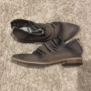 Free people leather shoes